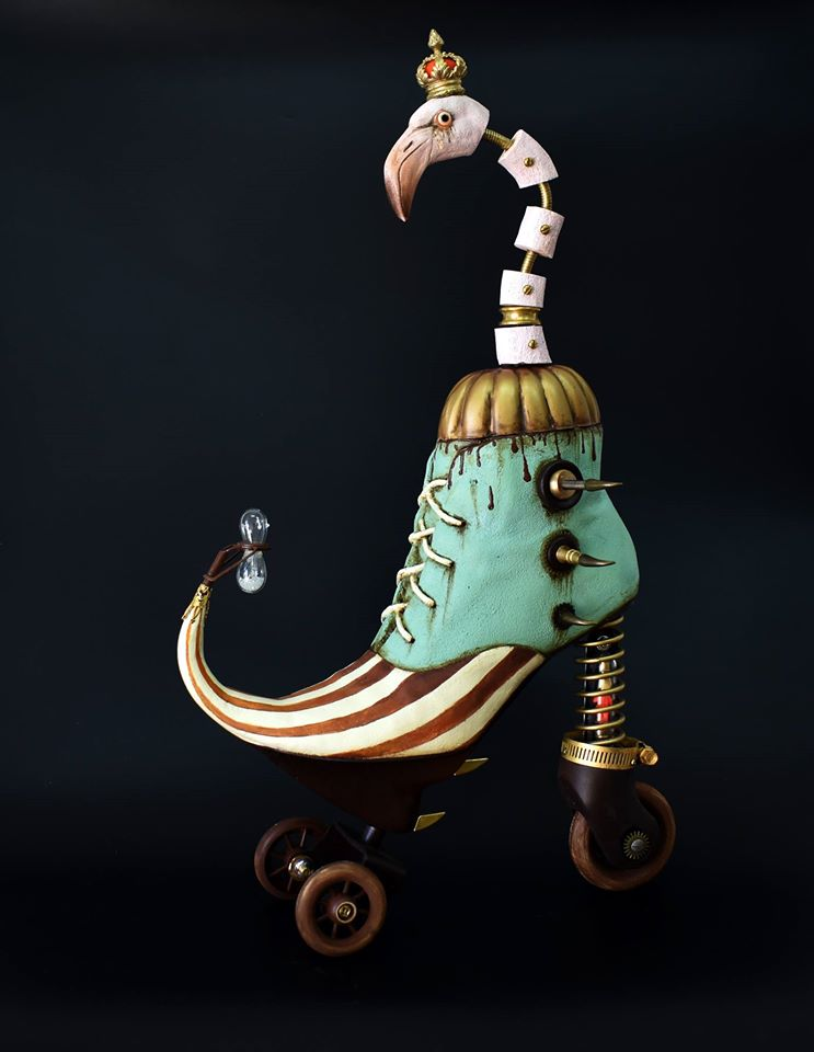 Exotic And Bizarre Shoe Sculptures By Costa Magarakis 8