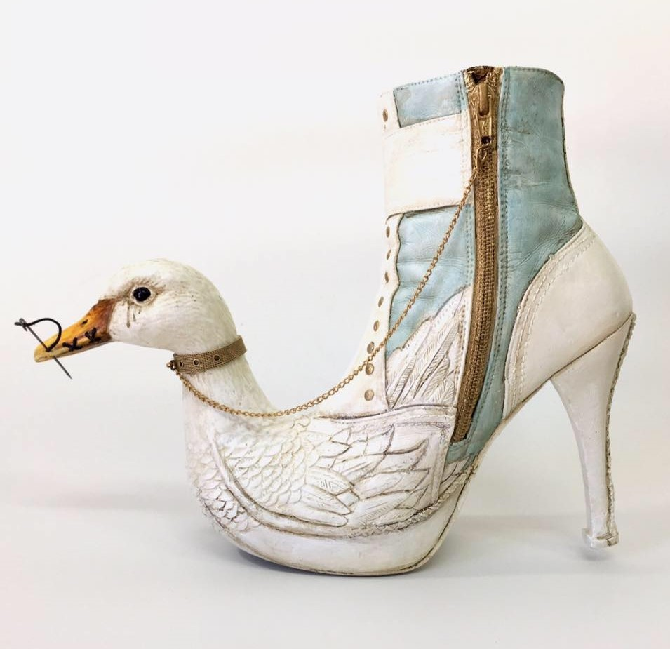 Exotic And Bizarre Shoe Sculptures By Costa Magarakis 9