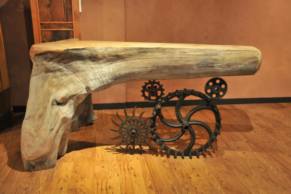 Extraordinary Sculptures And rustic Furniture Carved Out Of Driftwood By Jeffro Uitto 12