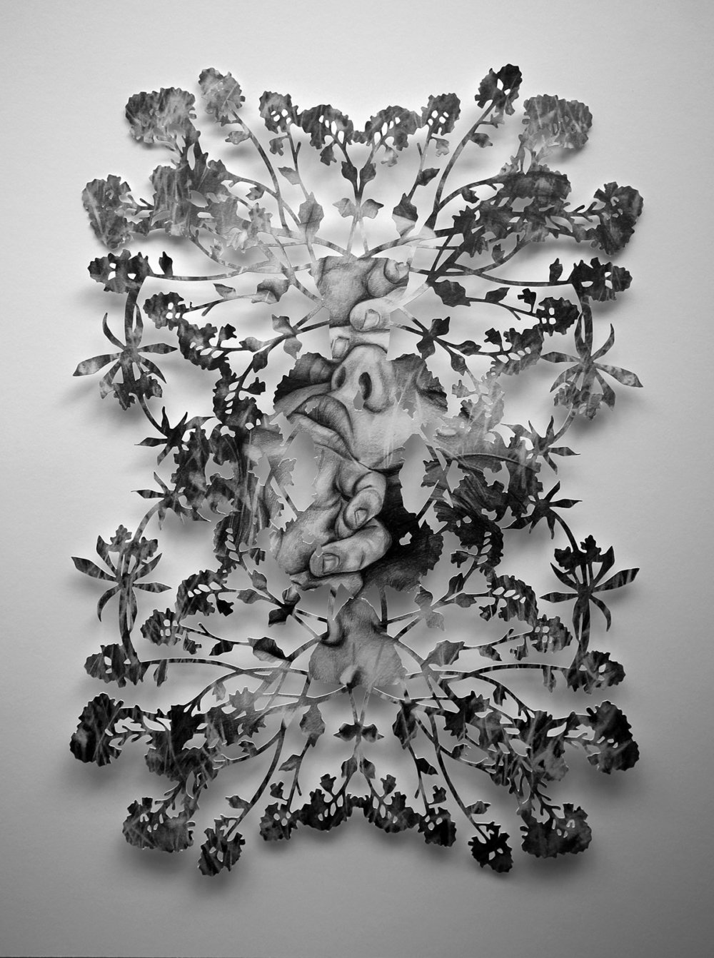 Fragmented Feelings Illustrated Papercut Works By Christine Kim 10