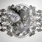 Fragmented feelings: illustrated papercut works by Christine Kim