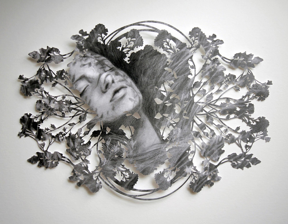 Fragmented Feelings Illustrated Papercut Works By Christine Kim 2