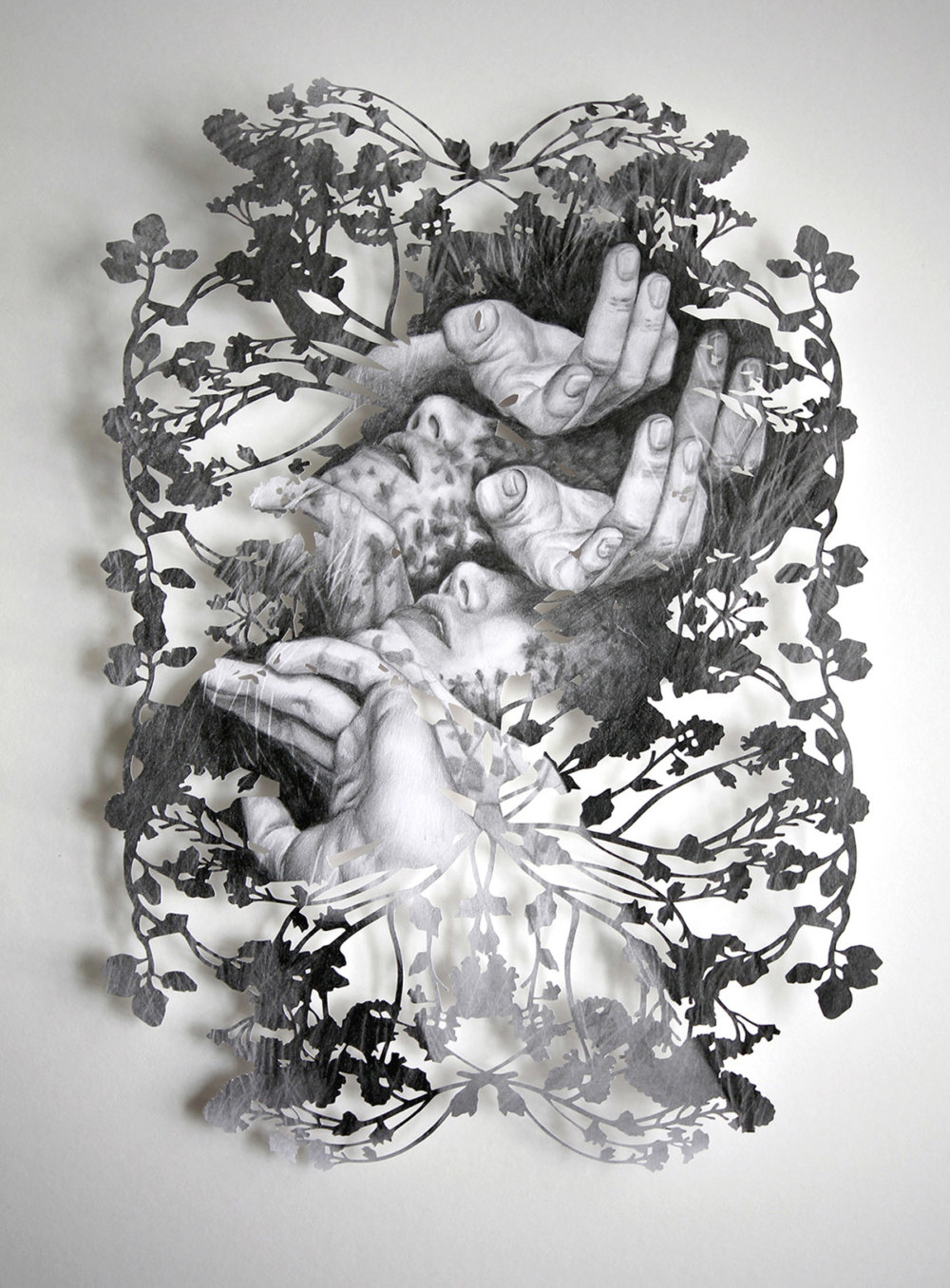 Fragmented Feelings Illustrated Papercut Works By Christine Kim 3