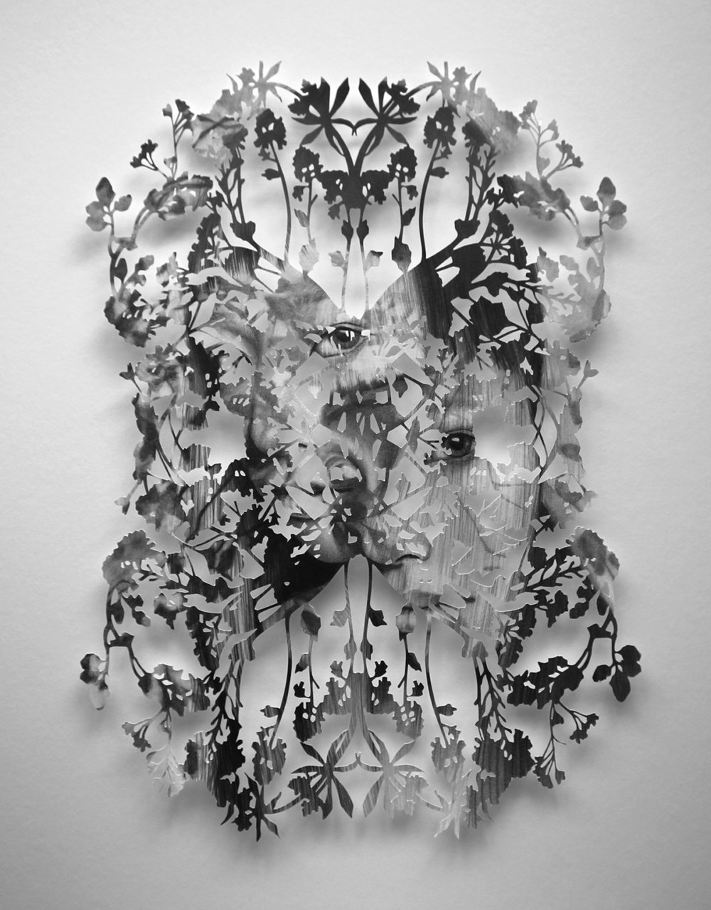 Fragmented Feelings Illustrated Papercut Works By Christine Kim 7