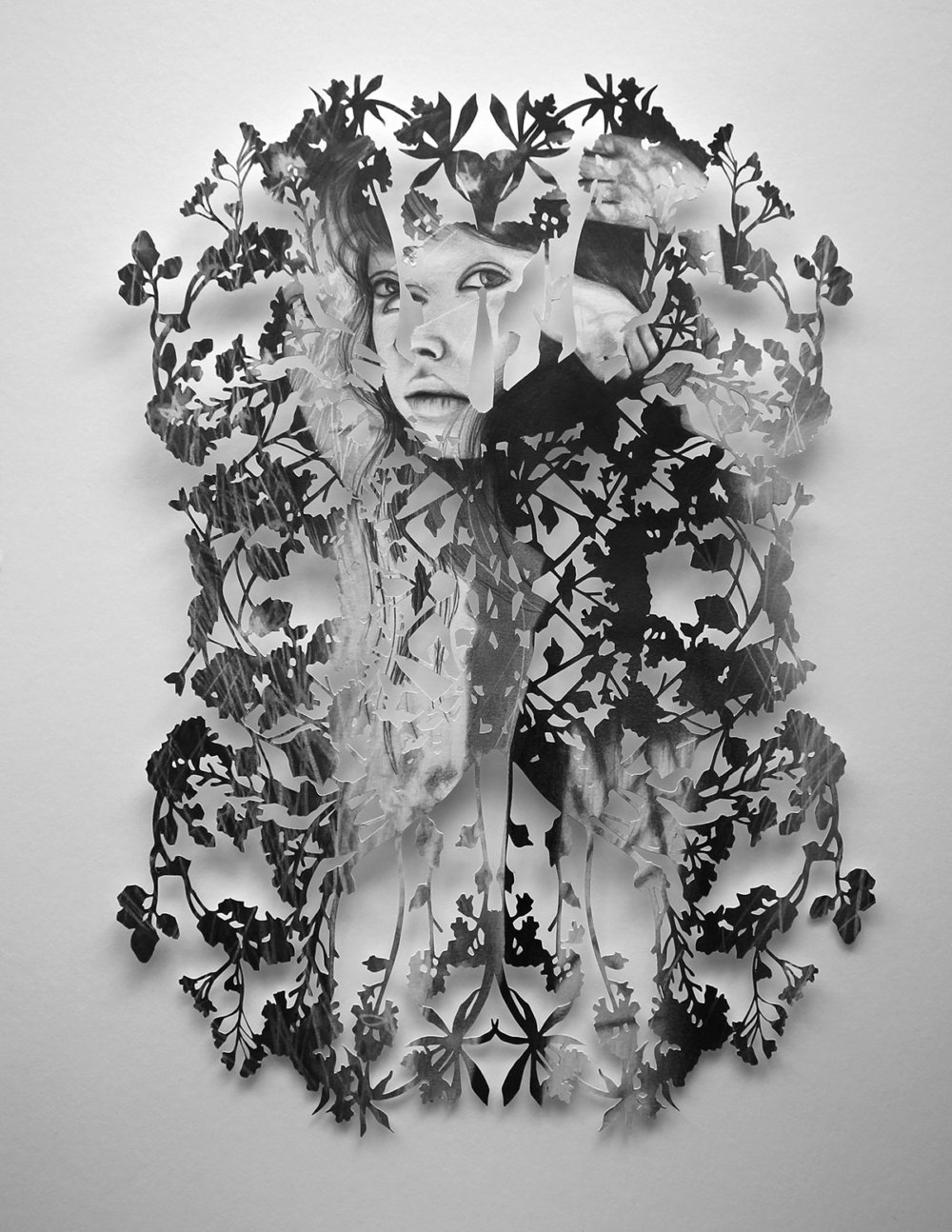 Fragmented Feelings Illustrated Papercut Works By Christine Kim 8