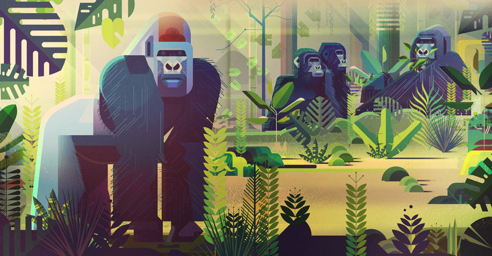 Gorgeous Editorial Illustrations Of Endangered Animals For The Book Saving Species By James Gilleard 1