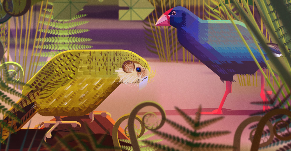 Gorgeous Editorial Illustrations Of Endangered Animals For The Book Saving Species By James Gilleard 5