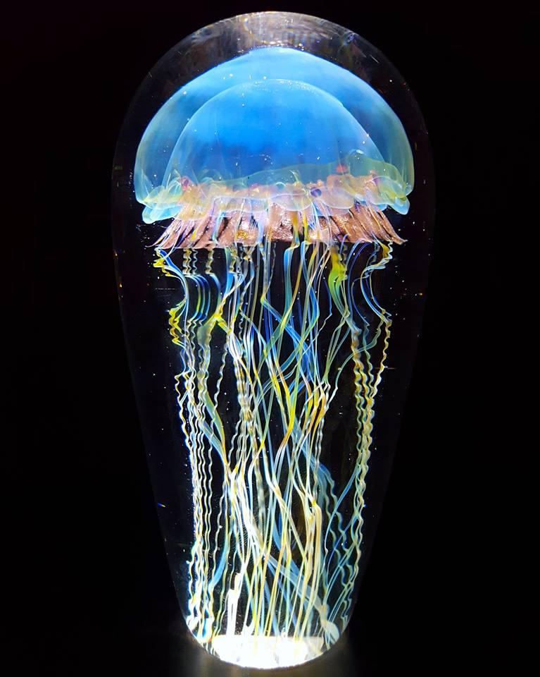 Gorgeous Glass Jellyfish Sculptures By Richard Satava 1