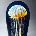 Gorgeous glass jellyfish sculptures by Richard Satava