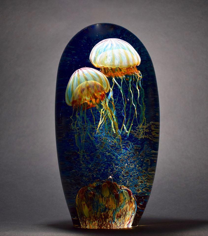 Gorgeous Glass Jellyfish Sculptures By Richard Satava 3