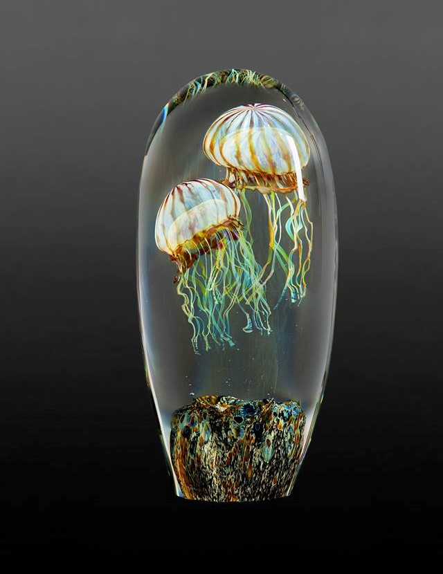 Gorgeous Glass Jellyfish Sculptures By Richard Satava 4