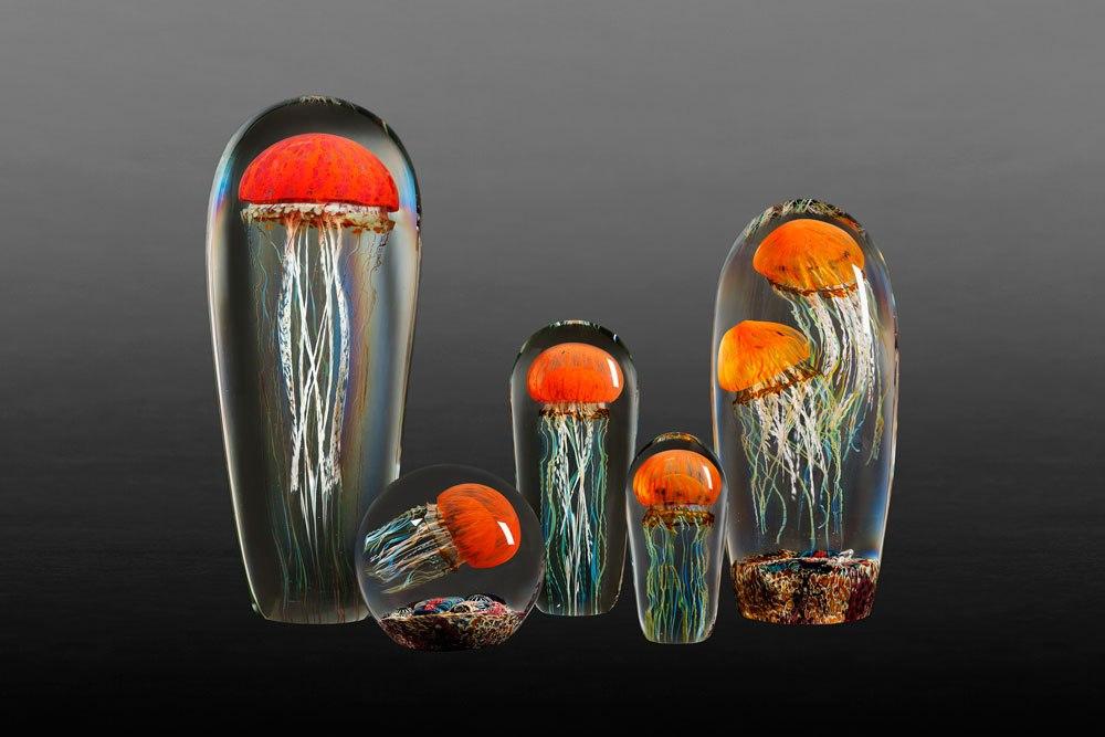 Gorgeous Glass Jellyfish Sculptures By Richard Satava 5