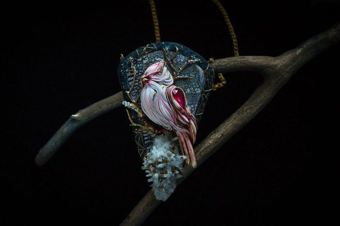 Gorgeous Handmade Jewelry Of Mystical Beings By Ellen Rococo 10