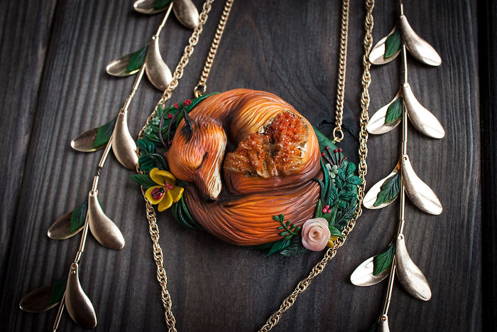 Gorgeous Handmade Jewelry Of Mystical Beings By Ellen Rococo 3