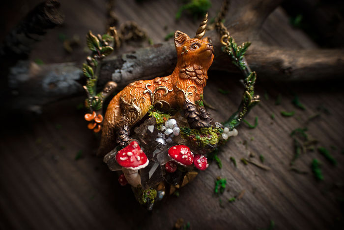 Gorgeous Handmade Jewelry Of Mystical Beings By Ellen Rococo 5