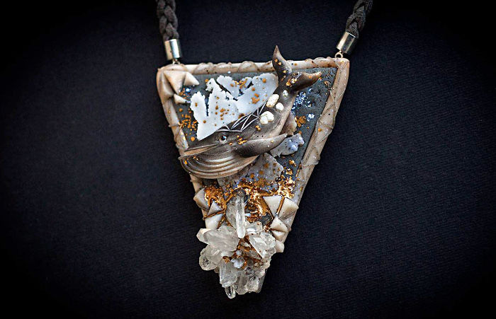 Gorgeous Handmade Jewelry Of Mystical Beings By Ellen Rococo 7
