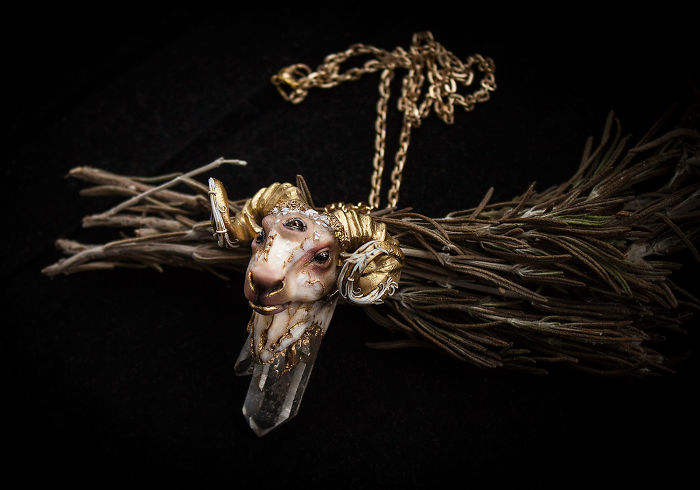 Gorgeous Handmade Jewelry Of Mystical Beings By Ellen Rococo 9