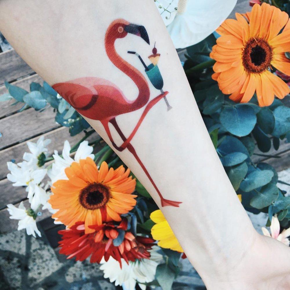 Gorgeous Illustrative Tattoos By Sasha Unisex 3