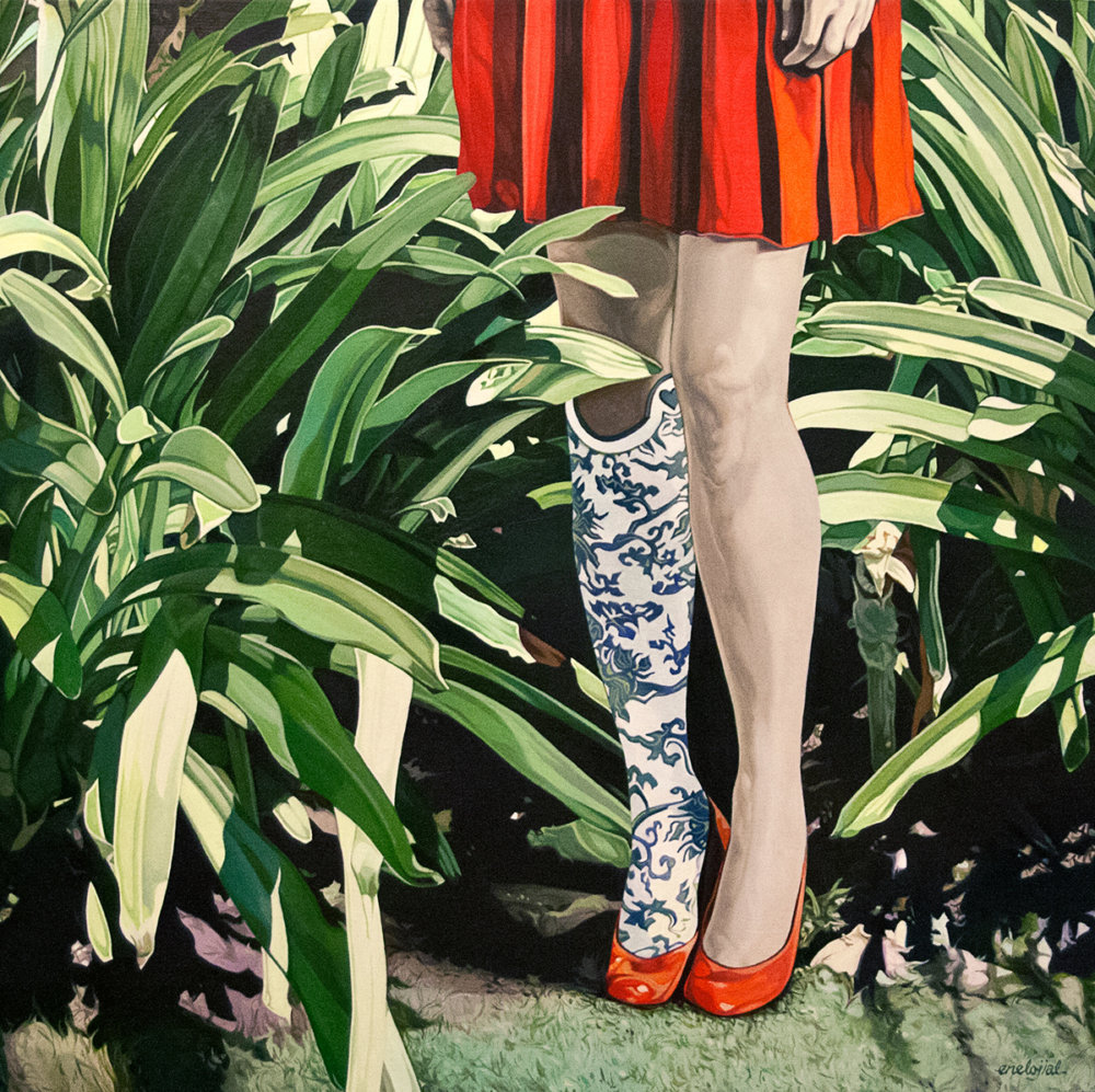 Gorgeous Surreal And Illustrative Paintings Of Girls In Ethereal Scenarios By Jolene Lai 6