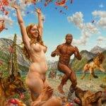Naturism paradise: sublime figurative paintings by Susannah Martin
