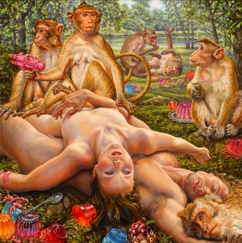 Human Nudity In Its Purest Form In Susannah Martins Paintings 2