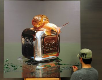 Incredible hyperrealism paintings by Young-sung Kim