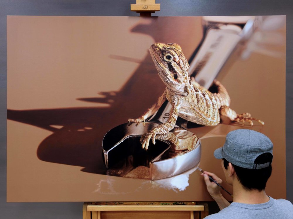 Incredibly Hyper Realistic Paintings By Young Sung Kim 10