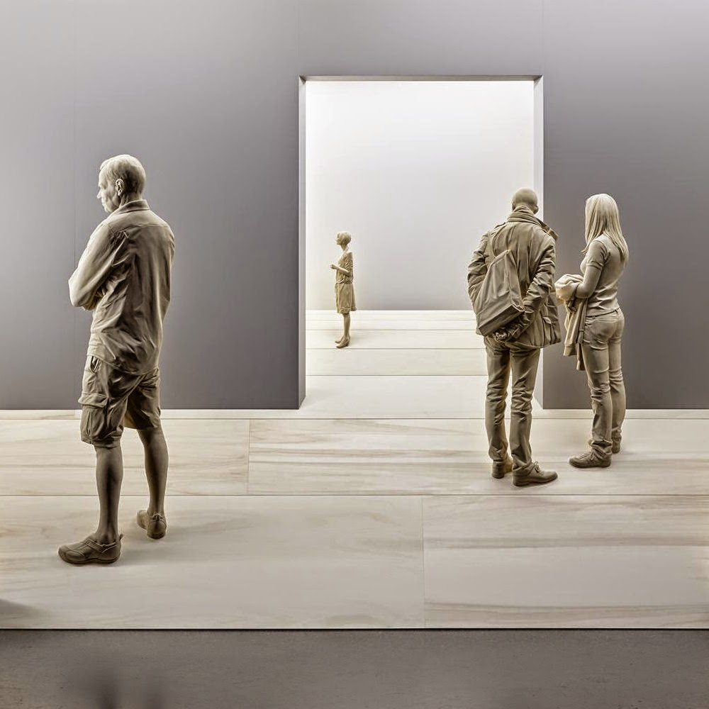 Magnificent Life Like Wooden Sculptures Hand Carved By Peter Demetz (2)