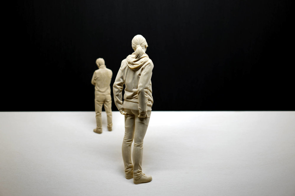 Magnificent Life Like Wooden Sculptures Hand Carved By Peter Demetz 3
