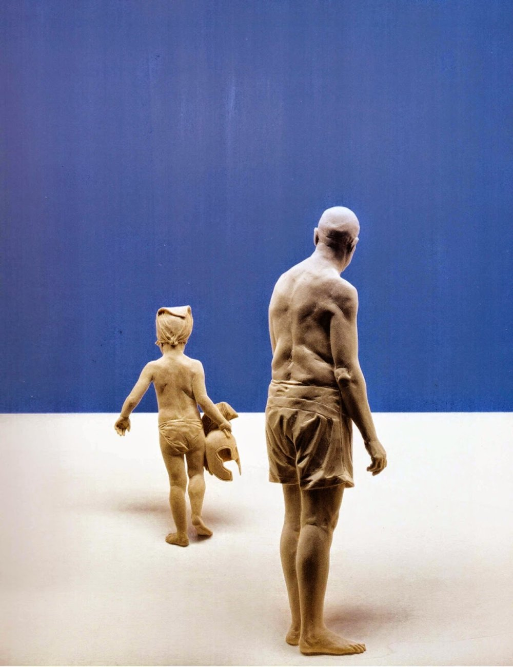 Magnificent Life Like Wooden Sculptures Hand Carved By Peter Demetz 8