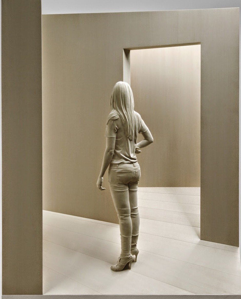 Magnificent Life Like Wooden Sculptures Hand Carved By Peter Demetz 9