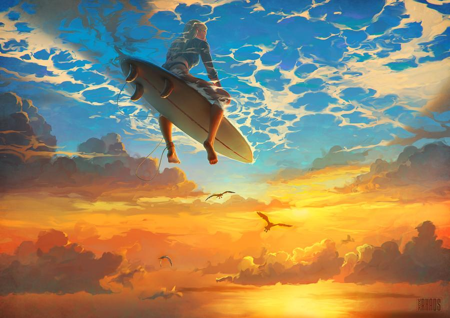 Magnificent Surreal Illustrations By Artem Chebokha 3
