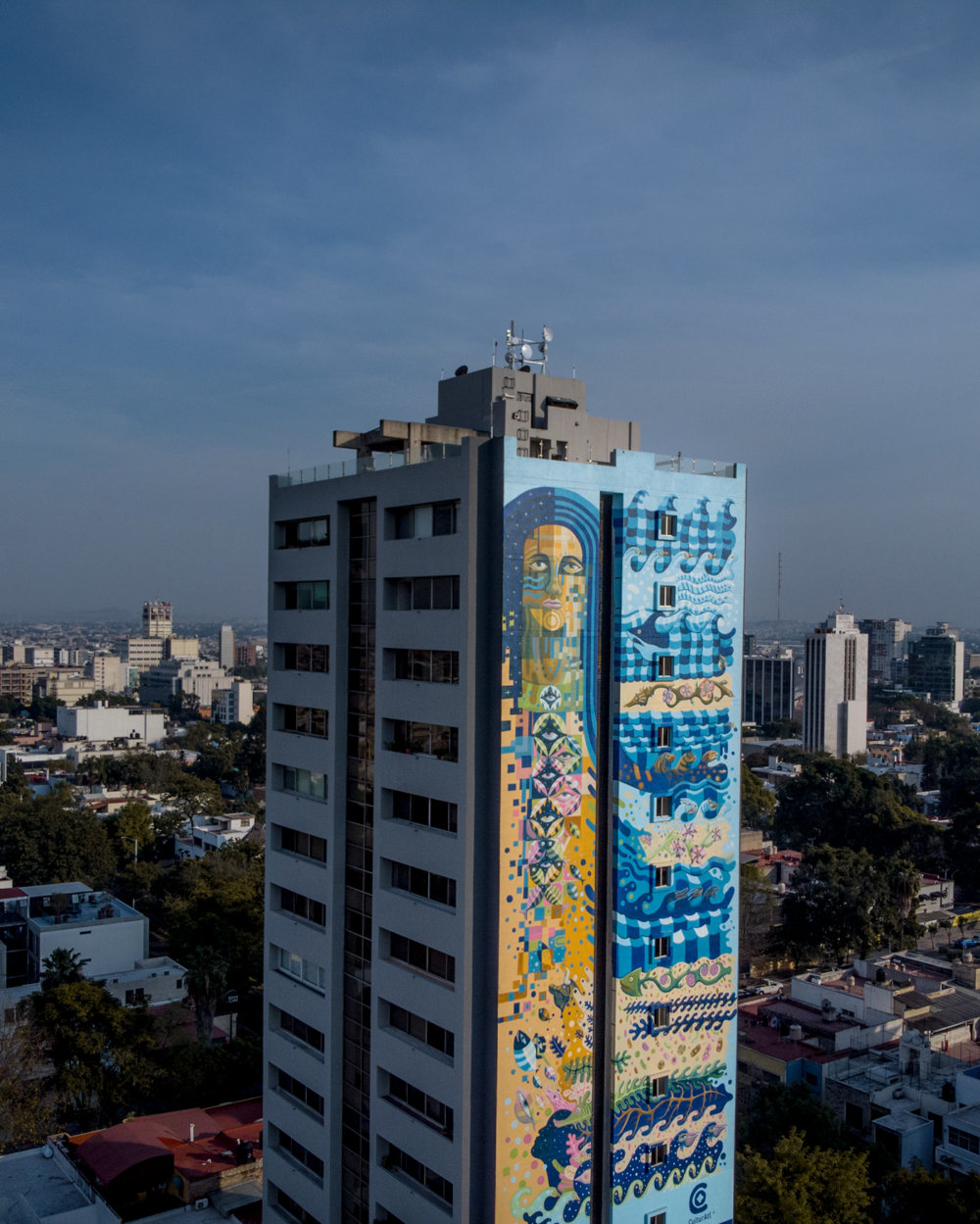 Marvelous Colorful Murals By Raul Sisniega 02