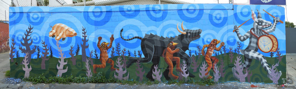 Marvelous Colorful Murals By Raul Sisniega 05