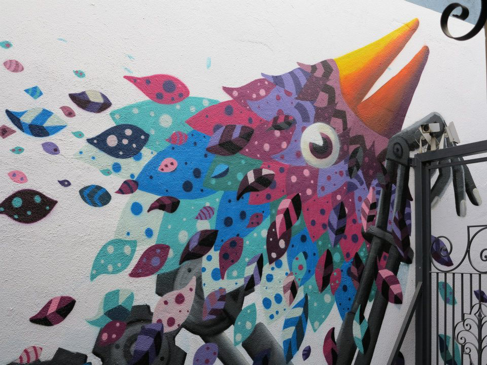Marvelous Colorful Murals By Raul Sisniega 06