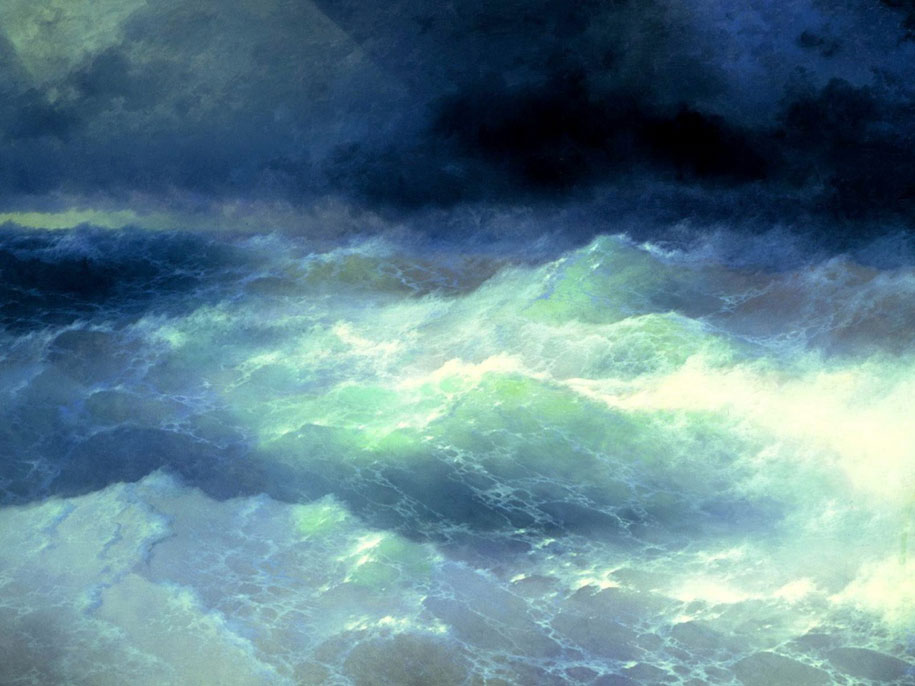 Mesmerizing Marine Paintings With Translucent Waves By Ivan Aivazovsky 4