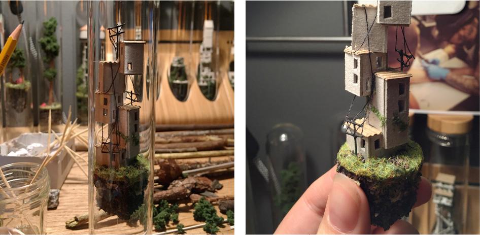 Micro Matter Mini Dioramas Inside Test Tubes By Rosa De Jong 3
