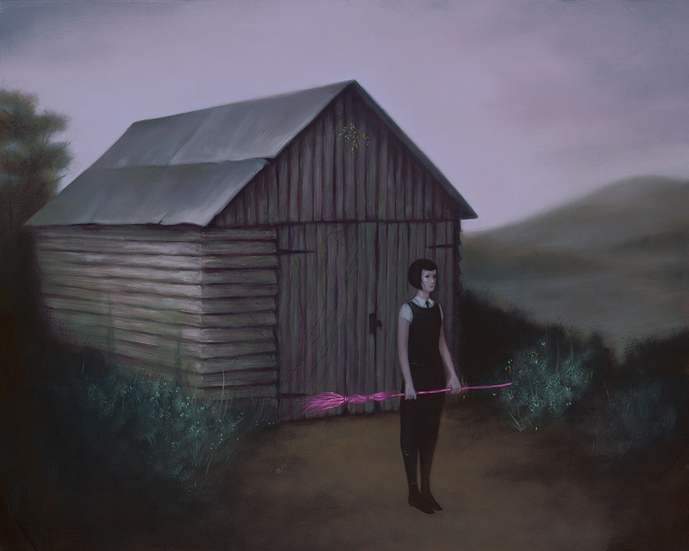 Moody Surrealistic Oil Paintings By Syd Bee 3