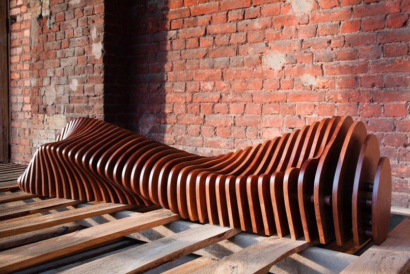 Organic Shaped Furniture By Parametric 1