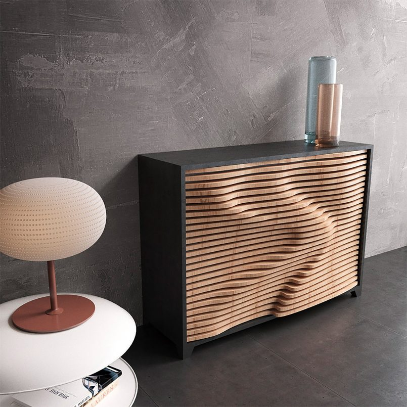 Organic Shaped Furniture By Parametric 4