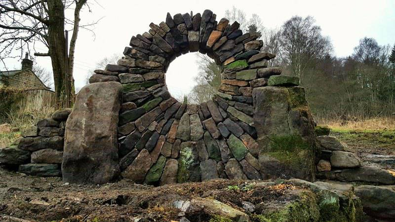 Piles Of Bricks And Stones Turned Into Fantastic Works Of Art By Johnny Clasper 1