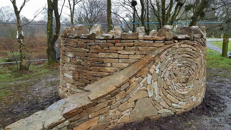 Piles Of Bricks And Stones Turned Into Fantastic Works Of Art By Johnny Clasper 10