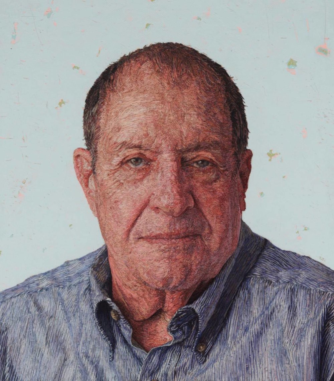 Realistic Embroidered Portraits By American Artist Cayce Zavaglia 4