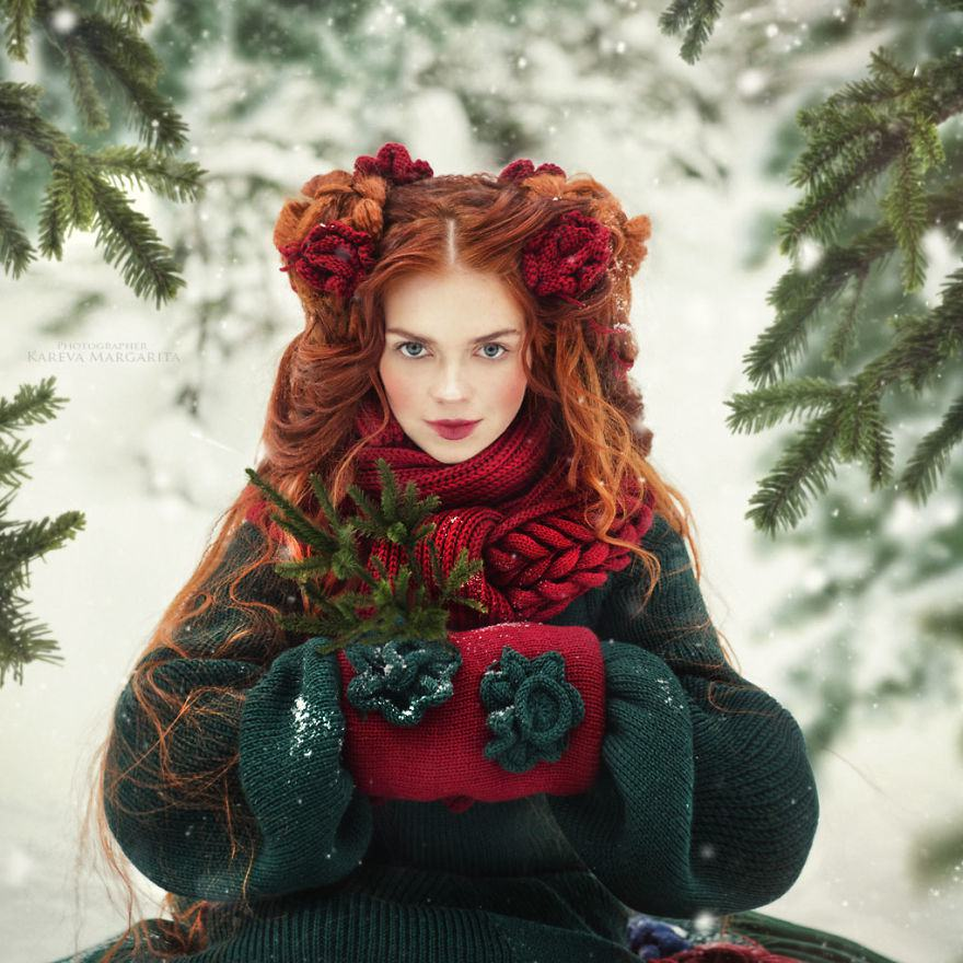 Russian Fairy Tales Brought To Life In Gorgeous Photographs By Margarita Kareva 1