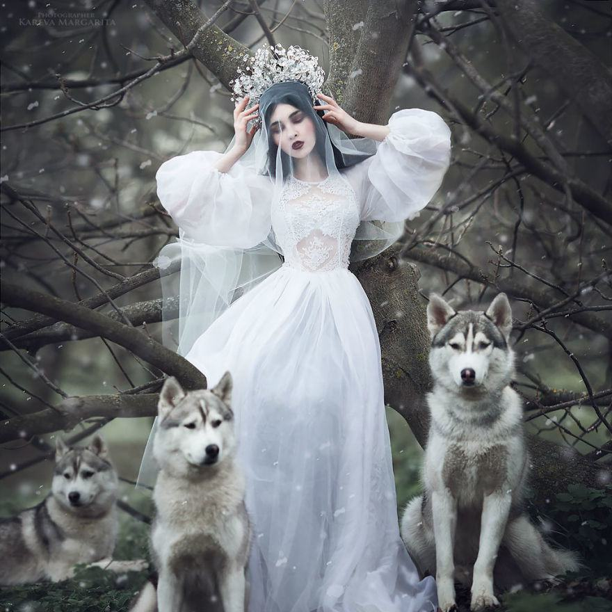Russian Fairy Tales Brought To Life In Gorgeous Photographs By Margarita Kareva 2