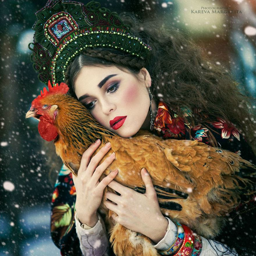 Russian Fairy Tales Brought To Life In Gorgeous Photographs By Margarita Kareva 3