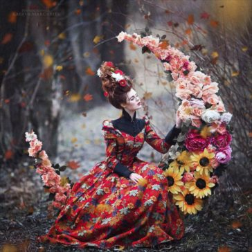 Russian fairy tales brought to life in gorgeous photographs by Margarita Kareva
