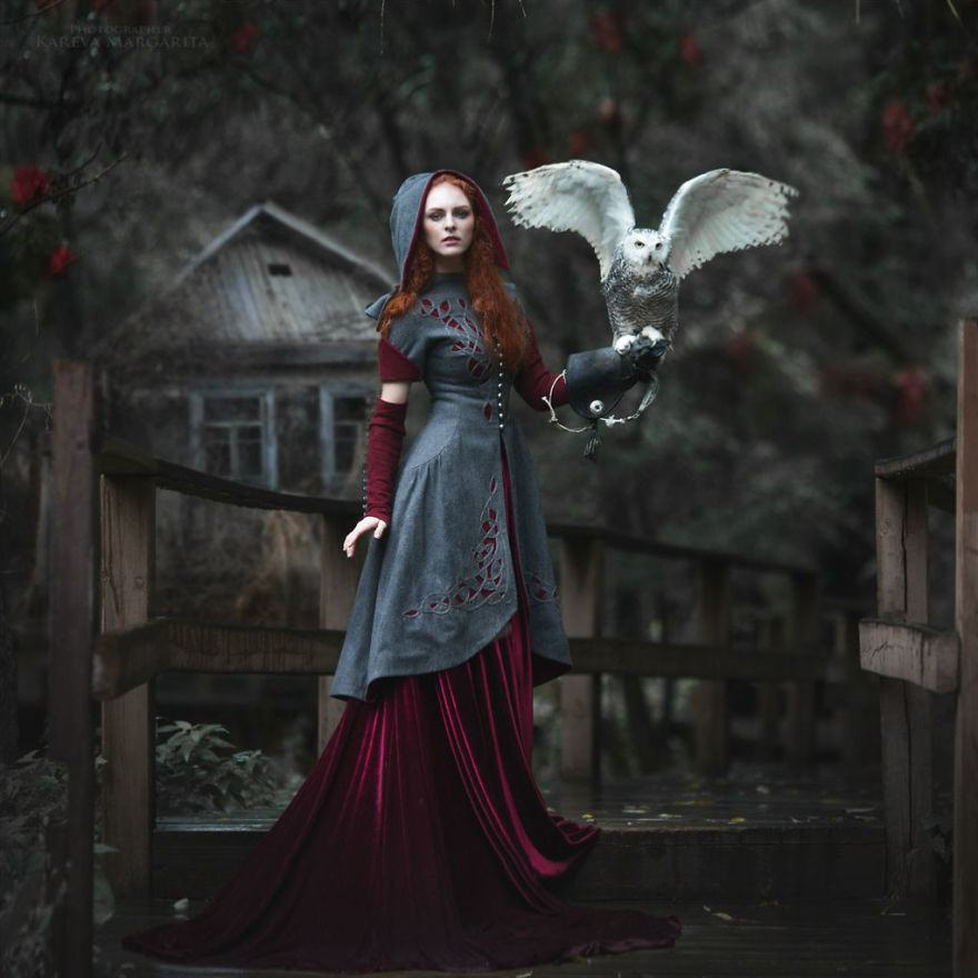 Russian Fairy Tales Brought To Life In Gorgeous Photographs By Margarita Kareva 7