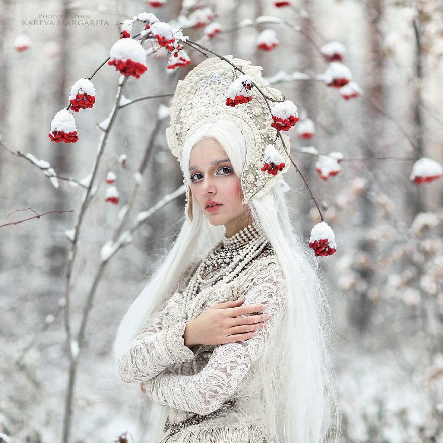 Russian Fairy Tales Brought To Life In Gorgeous Photographs By Margarita Kareva 9