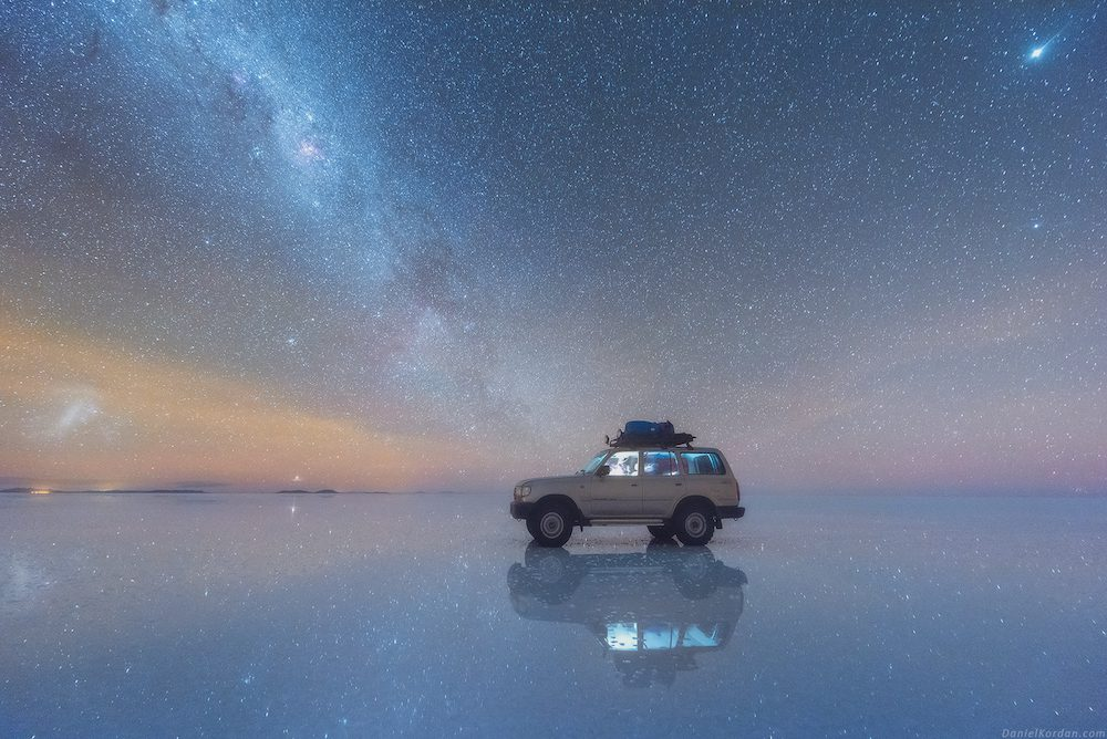 Salar De Uyuni And Milky Way Spectacular Photos Of Our Galaxy Mirrored In The Worlds Largest Salt Flat By Daniel Kordan 2